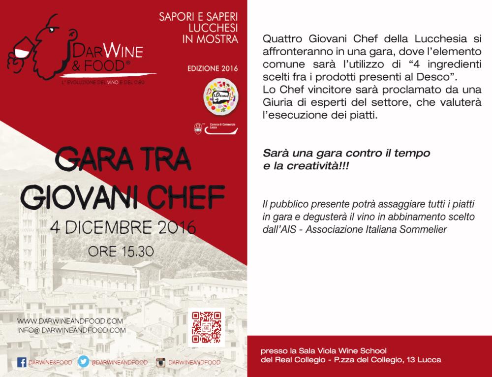 Gara Giovani Chef al Desco 2016